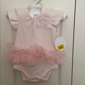 NB Edgehill Collection light pink bodysuit